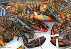 """NUEVA YORK, CHINATOWN - """"LANGOSTAS"""" SEA FOOD MARKET. FOTO POR ARTUR CORAL. 21 SEP 2014."""