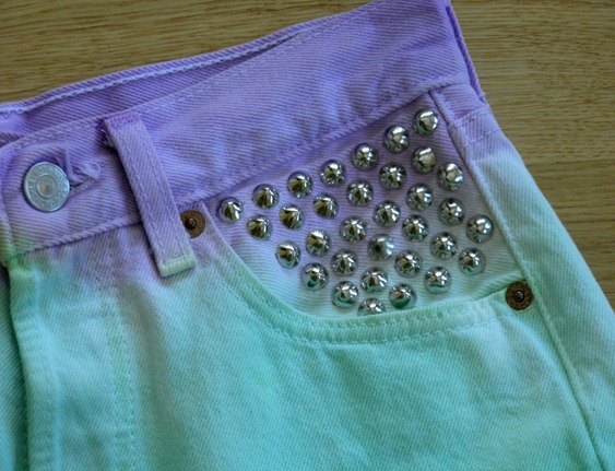DIP DYE SHORTS 8
