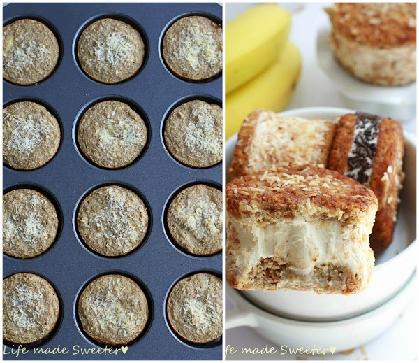 Toasted Coconut Banana Bread Ice Cream Sandwiches 8 - Life Made Sweeter.jpg