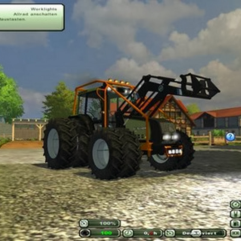 Farming simulator 2013 - Valtra 6800 Forestry v 1.0