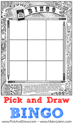 Pick and Draw BINGO
