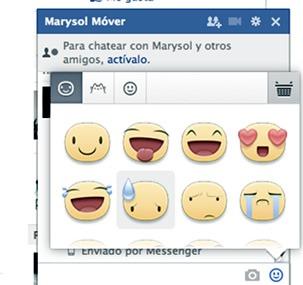 Enviar meep para el chat de Facebook