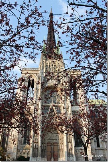 ルーアン大聖堂の翼廊