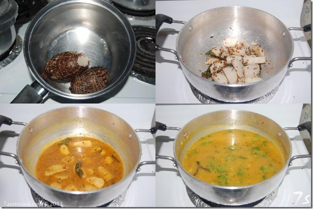 Sepang kizhangu sambar process