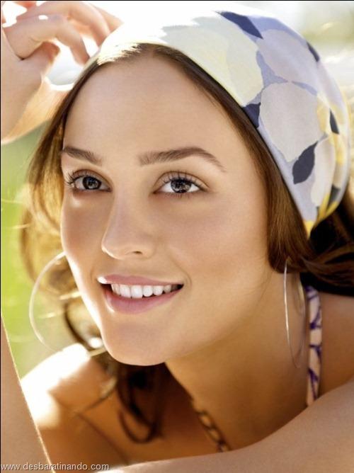 Leighton meester blair gossip girl garota do blog linda sensual desbaratinando  (42)
