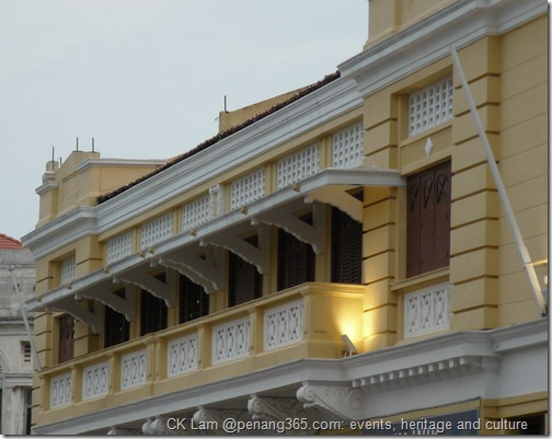 Heritage buildings around Beach Street, George Town at www.penang365.com
