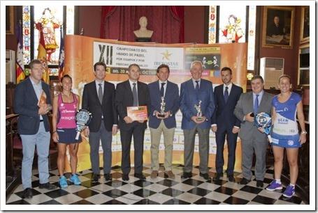 El Campeonato del Mundo Trofeo Padelmanía se presenta oficialmente en Palma de Mallorca.