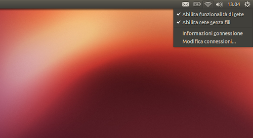Ubuntu 12.10 - applet network