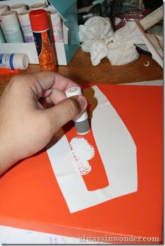 DIY Stencil and Artwork (22)