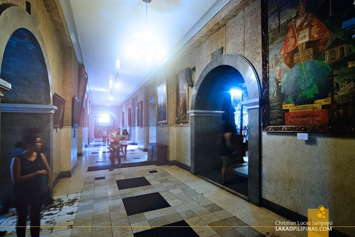 Historical Paintings at Cebu's Sto. Niño Church