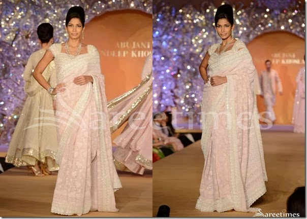 Abu_Jane_Sandeep_Pink_Saree