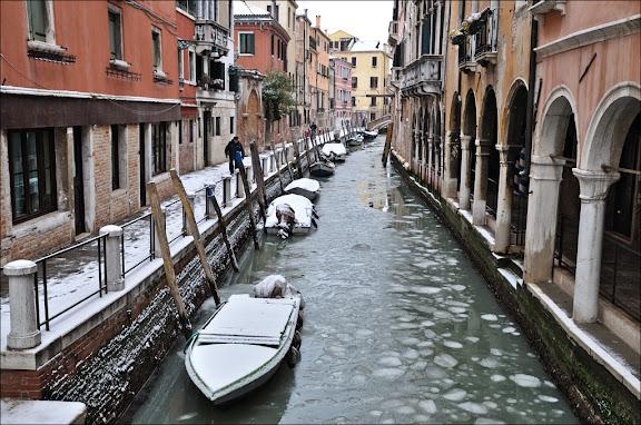 Зима в Венеции