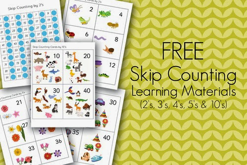 Skip Counting Learning Pack