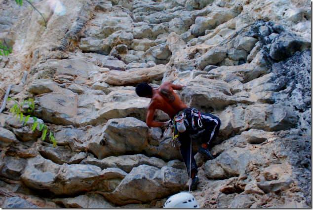 Rock Climbing at Ko Phi Phi