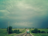 """Kansas Highway"" - copyright Linda Niehoff"
