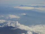 Lamongan (Tarub) seen between Argopuro and Semeru from a Denpasar-Jakarta flight (Dan Quinn, July 2013)