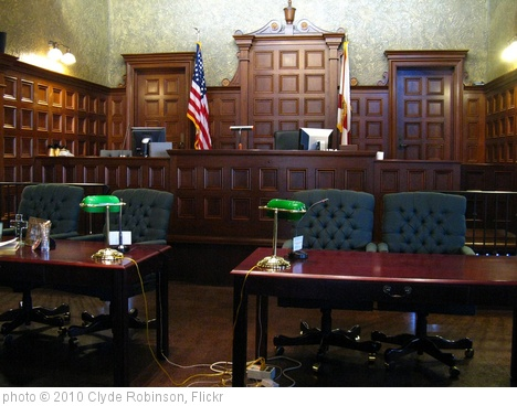 'Courtroom' photo (c) 2010, Clyde Robinson - license: http://creativecommons.org/licenses/by/2.0/