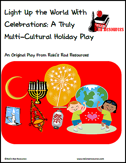 The holiday dilemma - What do we teach about winter holidays?  Stop by my blog to hear why I think teaching about many holidays is helpful to all students.  Heidi Raki of Raki's Rad Resources