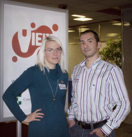 Luca Deriu e Pamela De lorenzi (PlaySys)