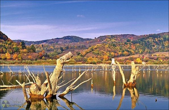 Lake Bezid, Romania