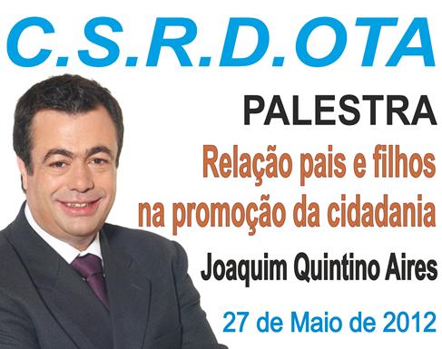Joaquim Quintino Aires - Palestra