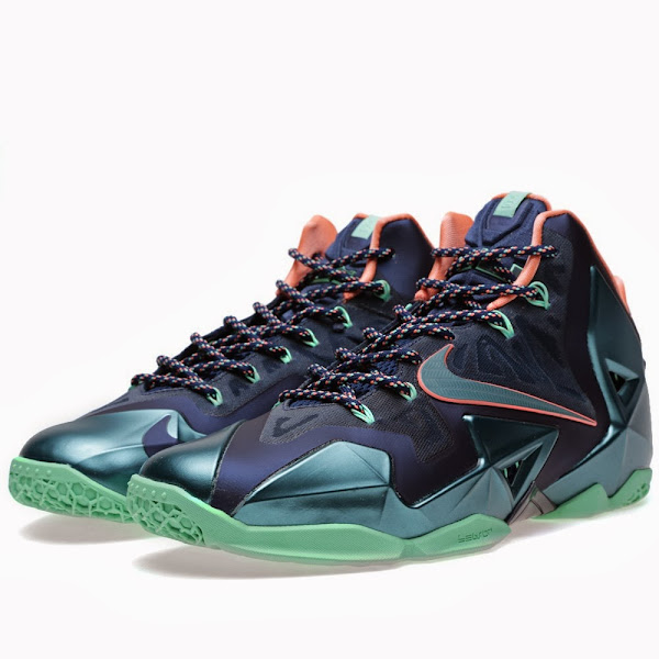 New Photos  Nike LeBron XI 8220Akron vs Miami8221