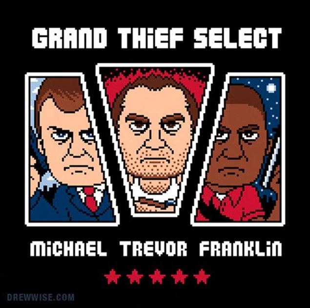 Die Grand Theft Auto V GIFs sind gekommen, um das Internet zu zerstören