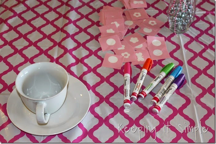 Little Girl Birthday Party Idea Tea Party with Stations (16)