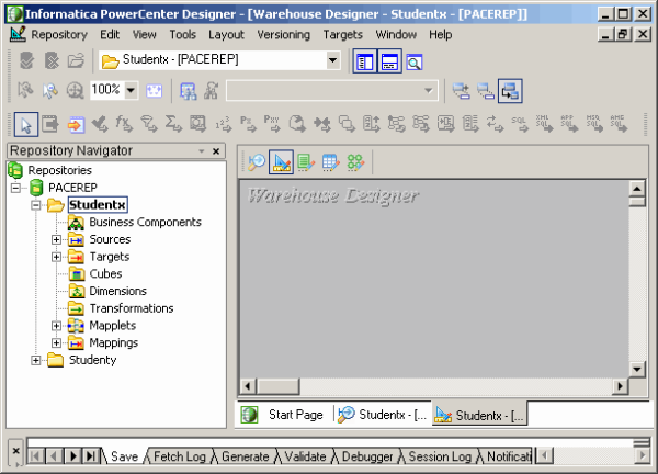 Informatica Mapping Designer