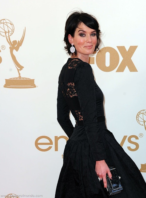 arrives at the 63rd Primetime Emmy Awards Live Nokia Theatre, L.A. 9-18-2011