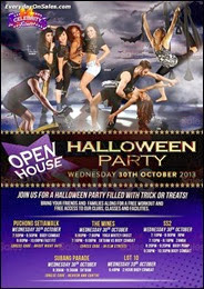 Celebrity Fitness Open House - Halloween Party 2013 Malaysia Deals Offer Shopping EverydayOnSales