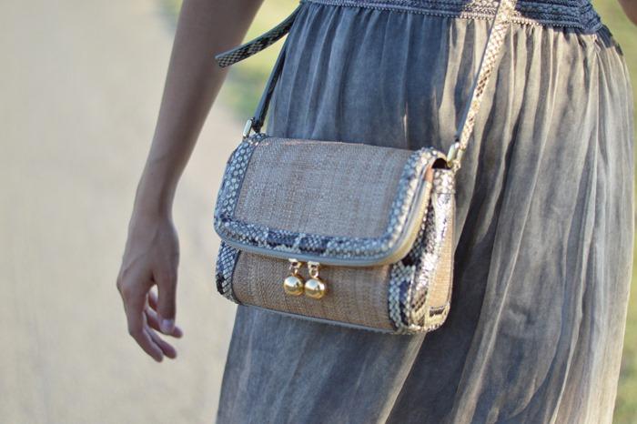 Dolce & Gabbana, Shoulder Bag, Cross Body Bag, Phyton Bag, DG Bag, Summer Bag, Raffia Bag, Rafia, Top Fashion Blogger