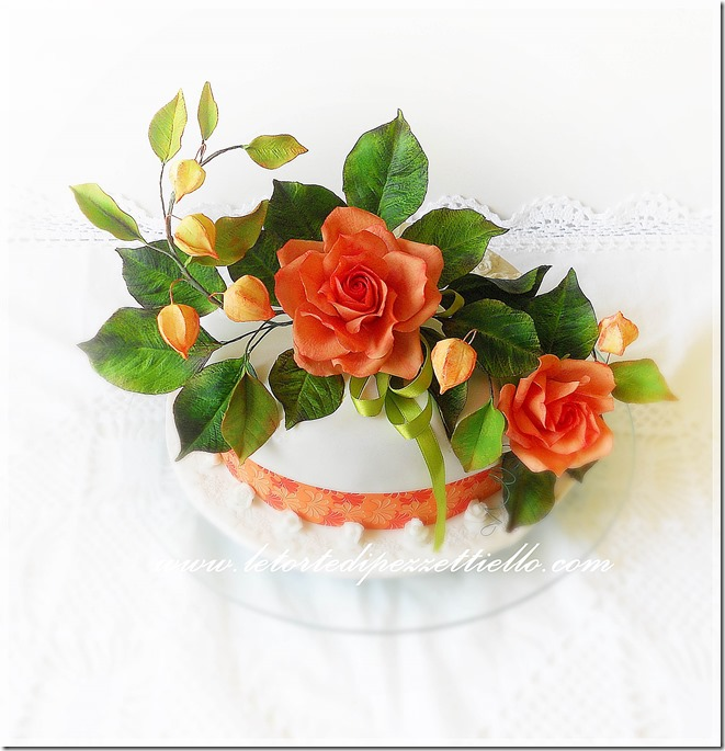 Lanterne Cinesi e rose corallo