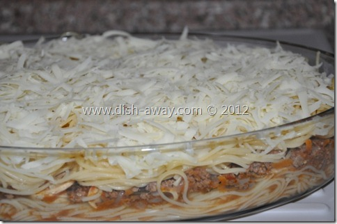 Meat Spaghetti Recipe by www.dish-away.com
