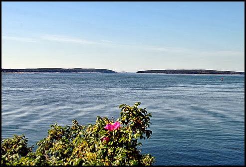 04g - Bass Harbor Rt 102 - View across the harbor