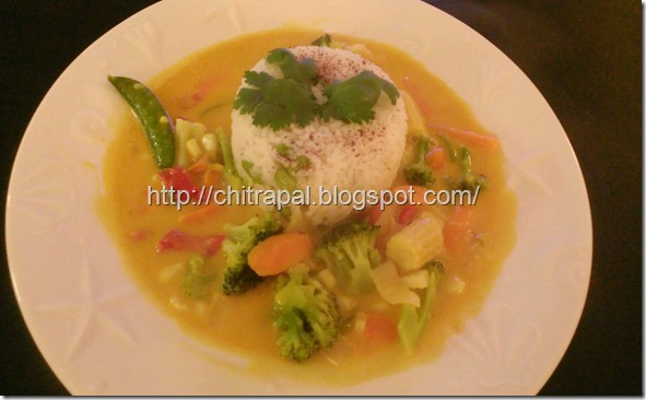 Chitra Pal Veggie Thai Red Curry