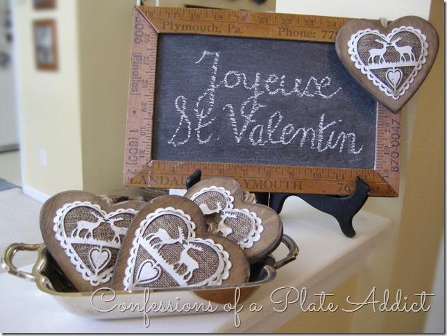 CONFESSIONS OF A PLATE ADDICT Valentine Vignettes