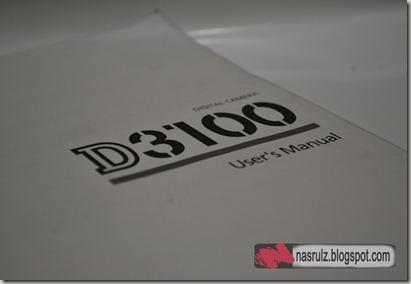 User's Manual D3100