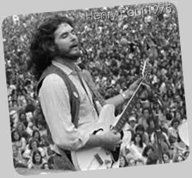 Henry Paul (guitar) 1975