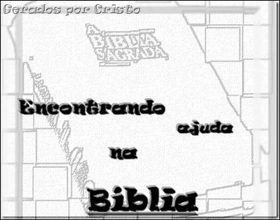 encontrando ajuda na bíblia