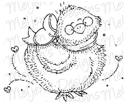 Meljen's Designs Spring Chick