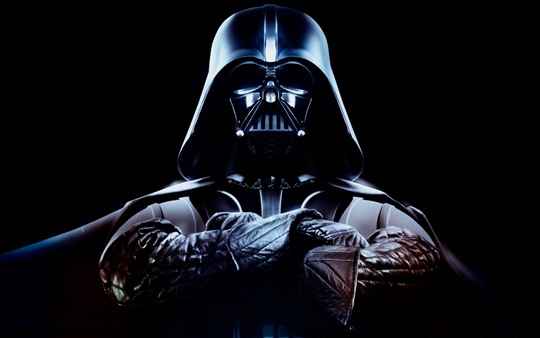 cool star wars darth vader promo photo arms crossed