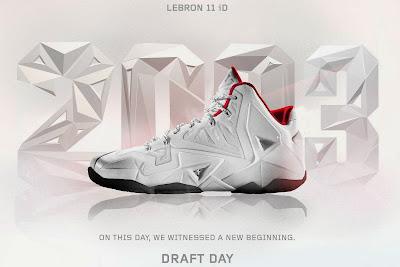 nike lebron 11 id draft date 1 01 A Decade of Moments // NIKEiD LeBron XI Draft Day