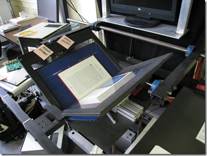 Internet Archives book scanner