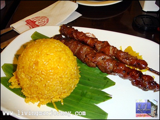2 pcs Pork BBQ with unlimited Java rice (P120)