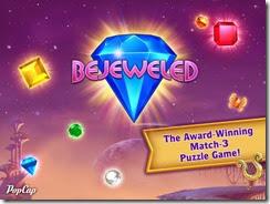 الواجهة الرئيسية للعبة Bejeweled