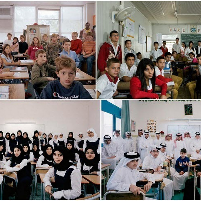 Classrooms Around the World by Julian Germain
