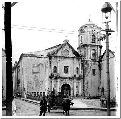 San Agustin Church, Manila c.1900s