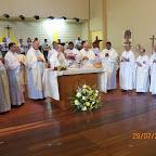 Missa na despedida do padre André Seutin