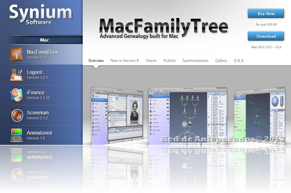 Sinyum Software_MacFamilyTree